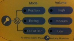bed alarm example 2