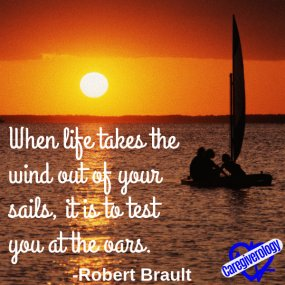 When life takes the wind out of your sails
