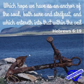Which hope we have as an anchor of the soul