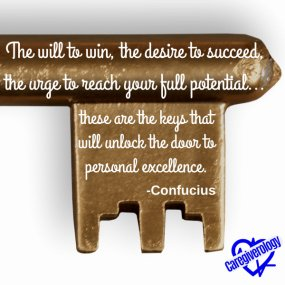 The will to win, the desire to succeed
