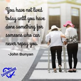 You have not lived today until you have done something