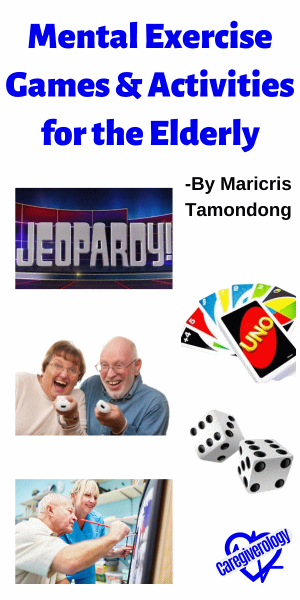 Mental Exercise Games and Activities for the Elderly