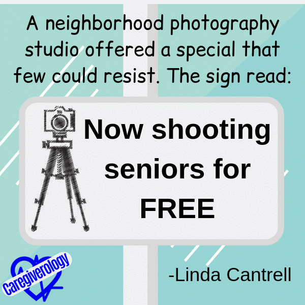 Now shooting seniors for free