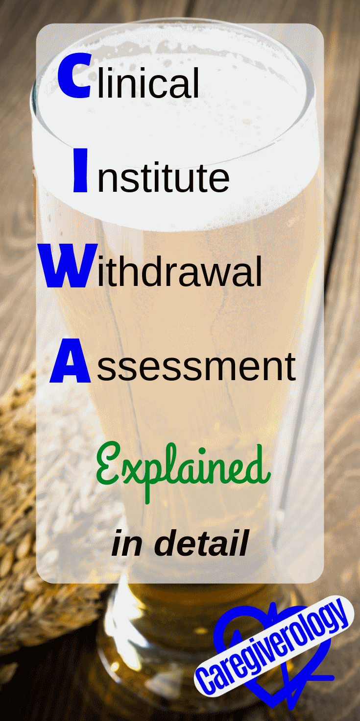 CIWA-Ar explained in detail