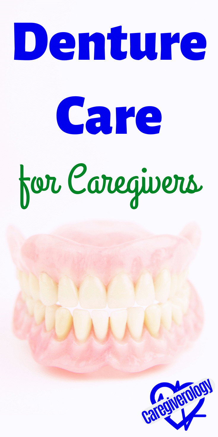 Denture care for caregivers
