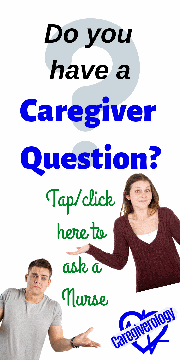 Do you have a caregiver question?