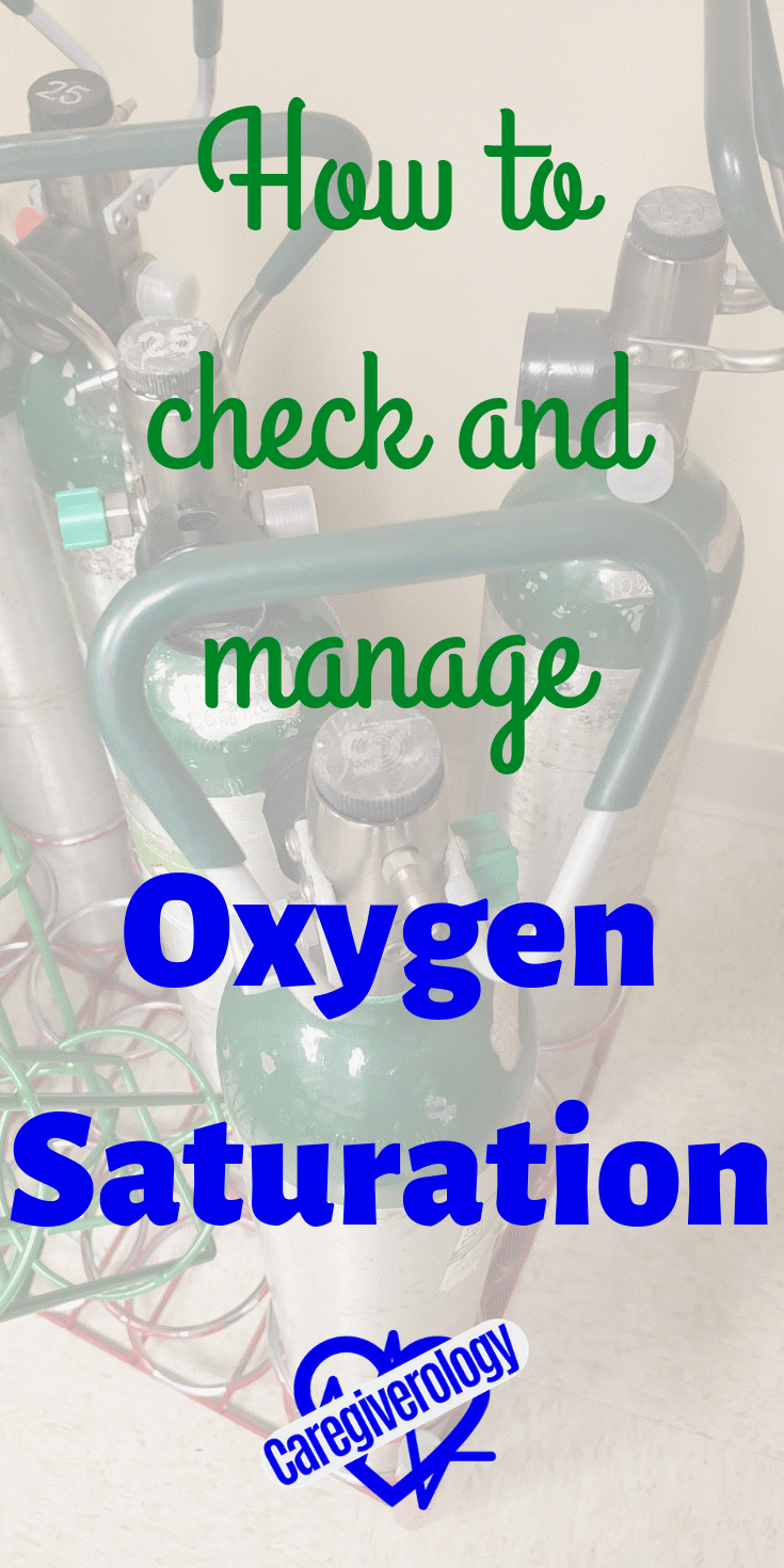 How to check and manage oxygen saturation