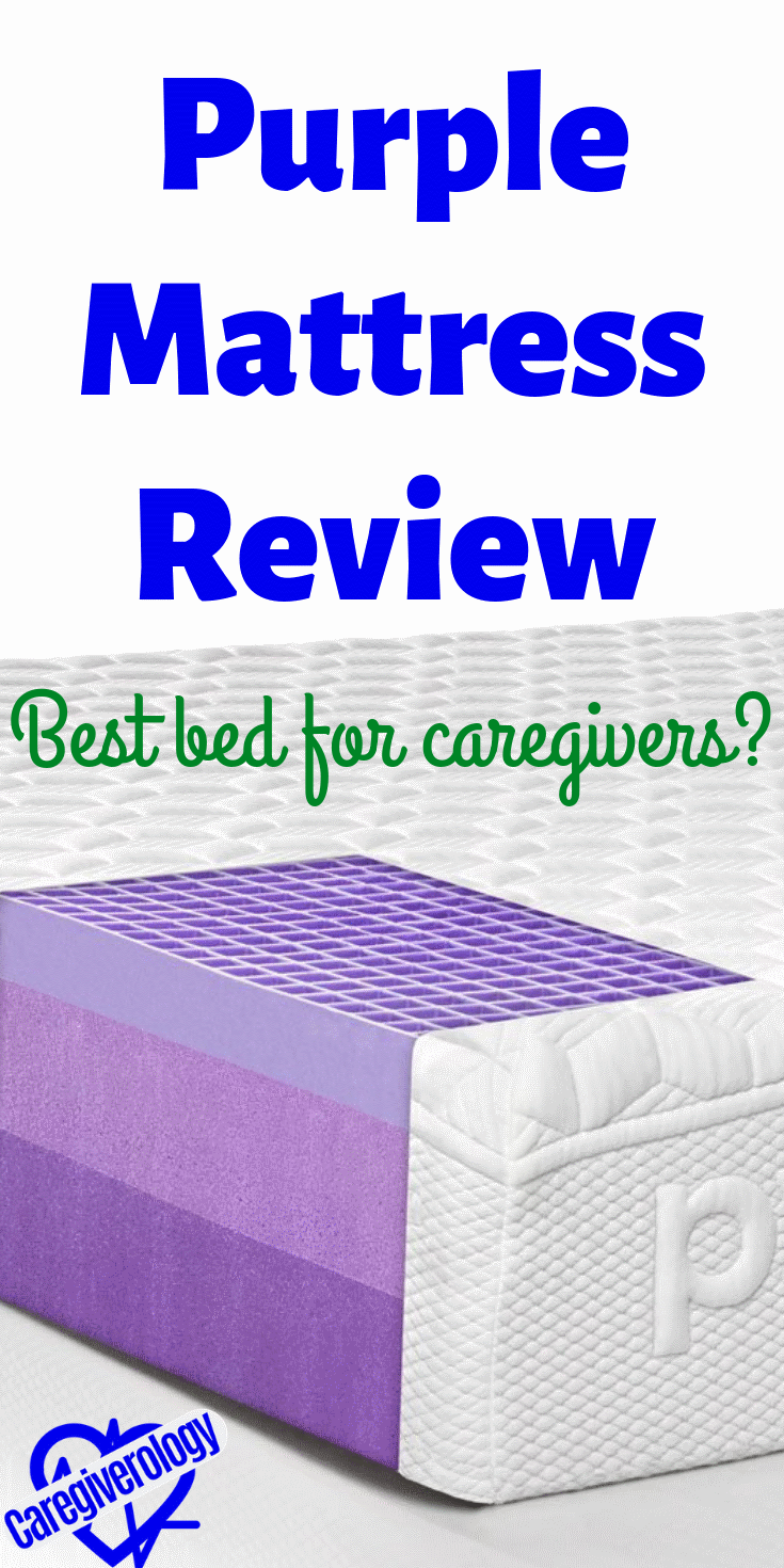 Purple Mattress Review - Best bed for caregivers?