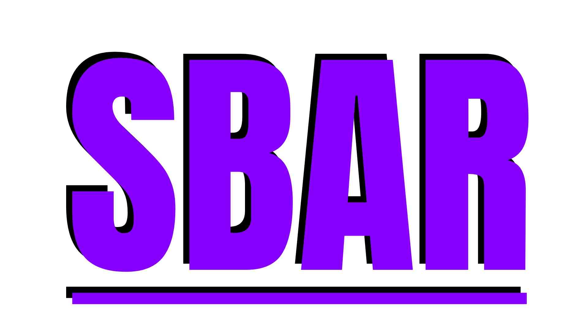 SBAR explained in detail