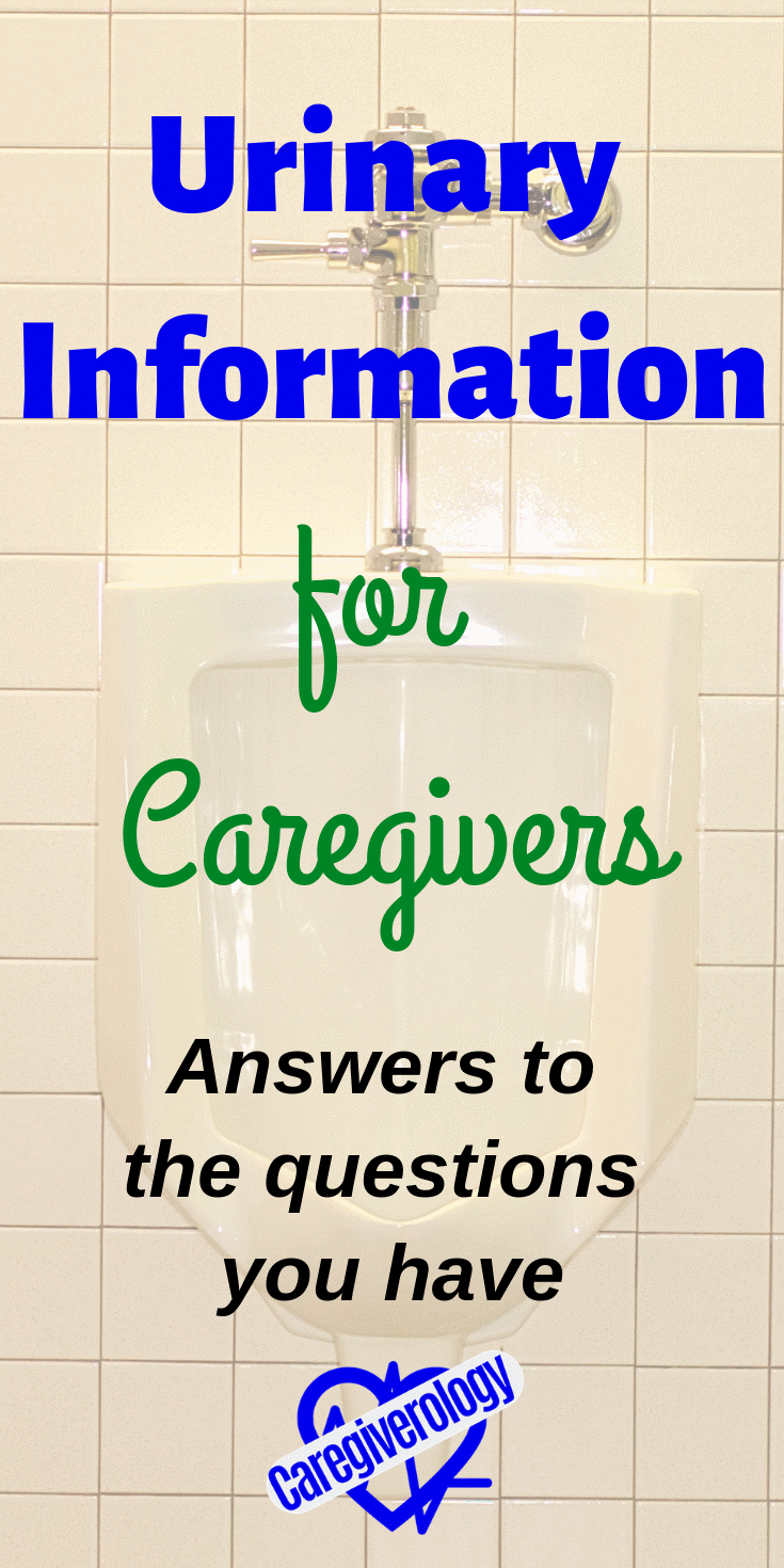 Urinary information for caregivers