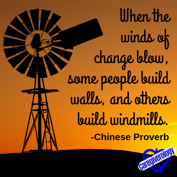 When the winds of change blow