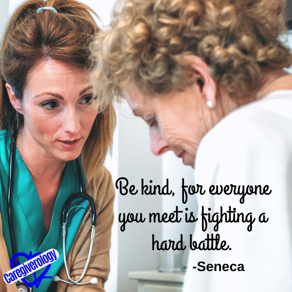 Be kind, for everyone you meet is fighting