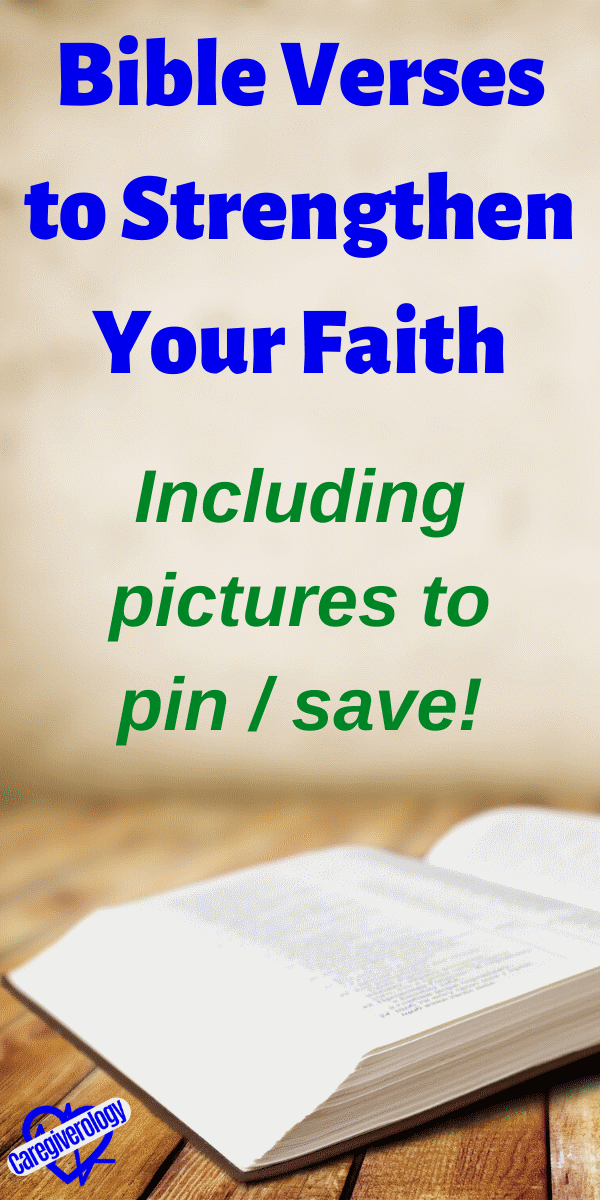 Bible Verses to Strengthen Your Faith