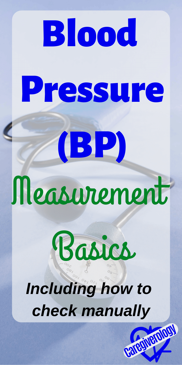 Blood pressure measurement basics