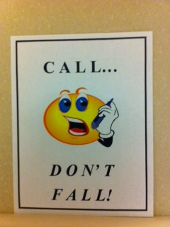 call don't fall