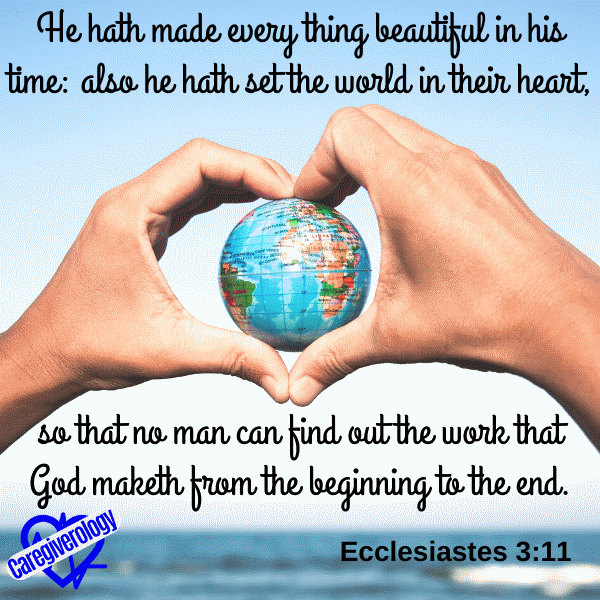 He hath made every thing beautiful in his time