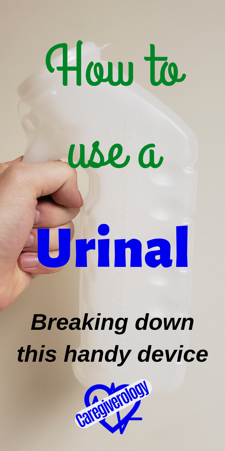 How to use a urinal