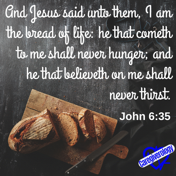 And Jesus said unto them, I am the bread of life