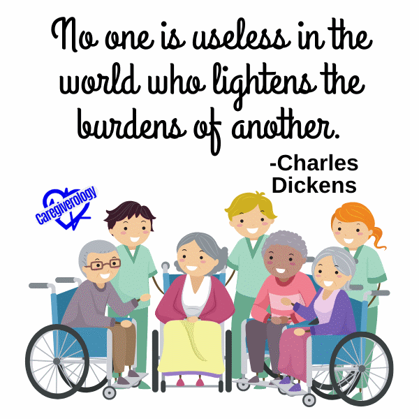 No one is useless in the world