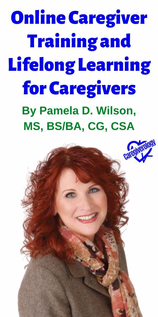 Online Caregiver Training and Lifelong Learning for Caregivers