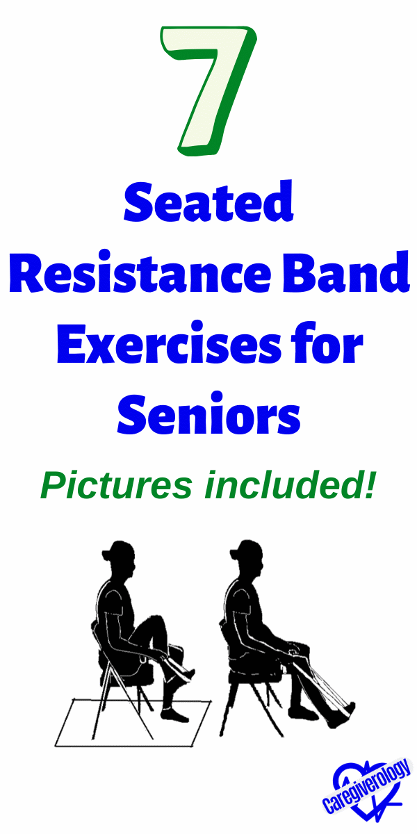 7 Seated Resistance Band Exercises for Seniors