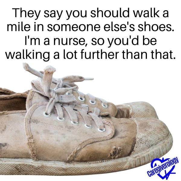 They say you should walk a mile in someone else's shoes