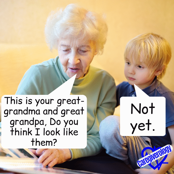 This is your great-grandma and great grandpa