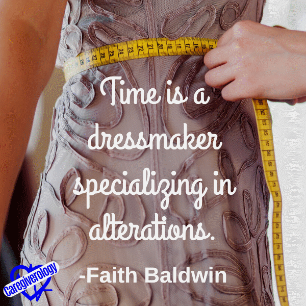 Time is a dressmaker specializing in alterations