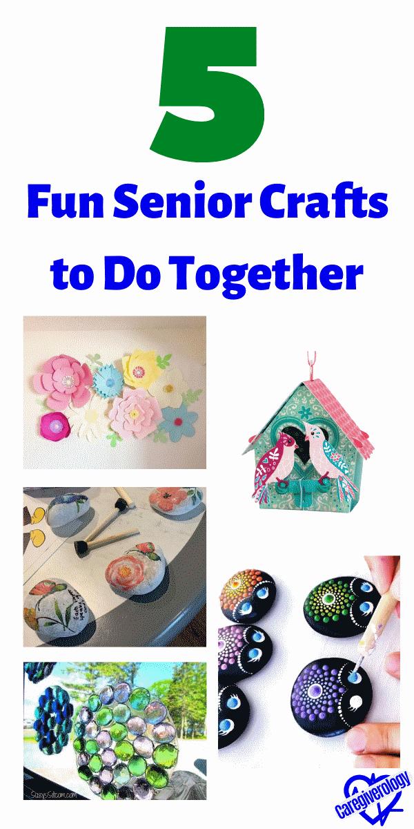 5 Fun Senior Crafts to Do Together