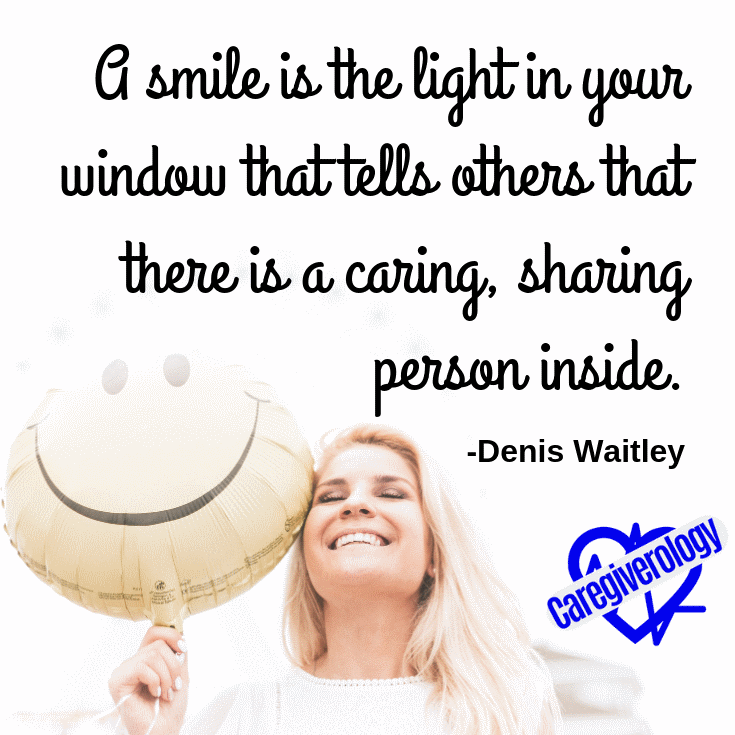 A smile is the light in your window