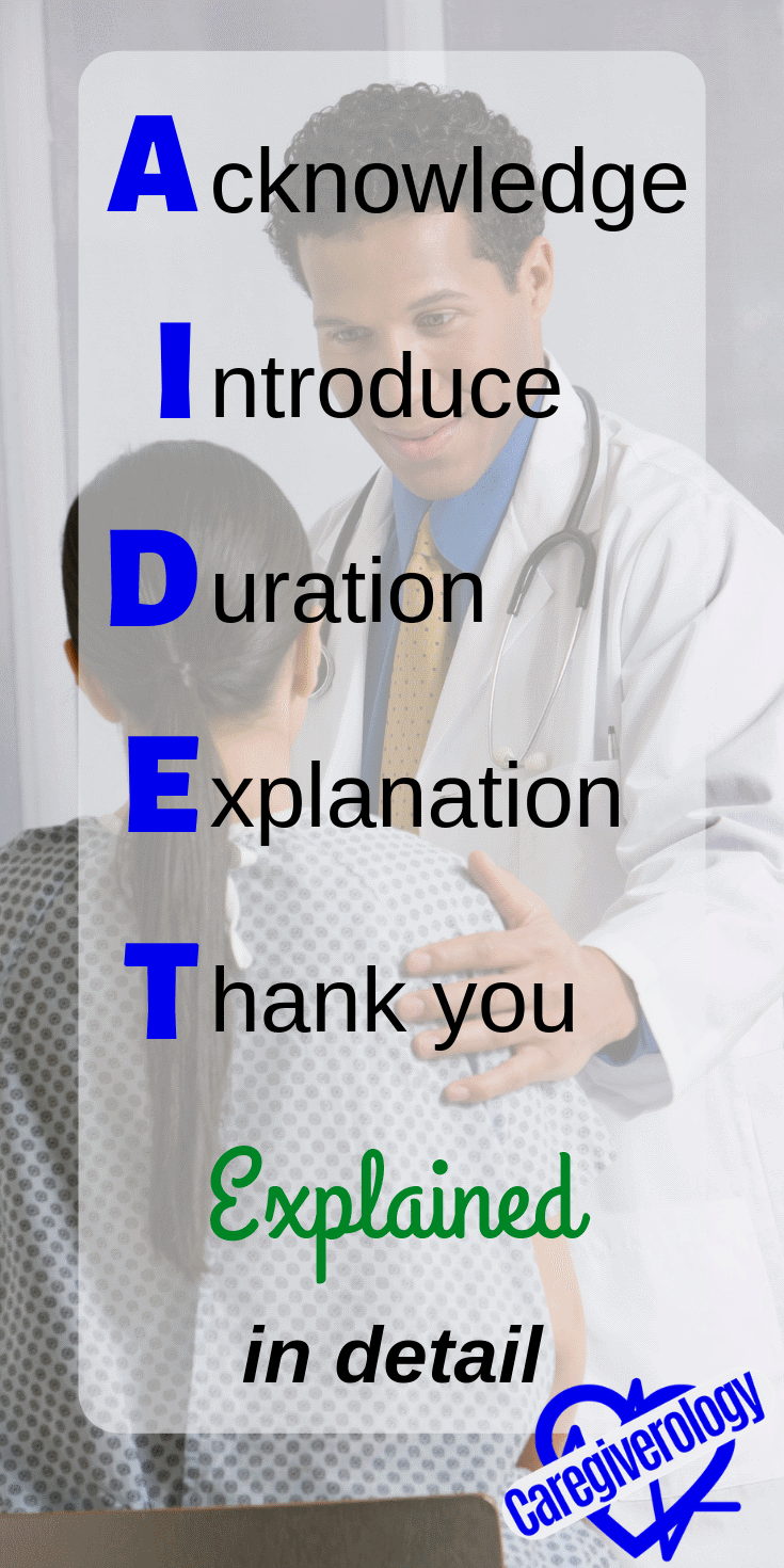 AIDET explained in detail