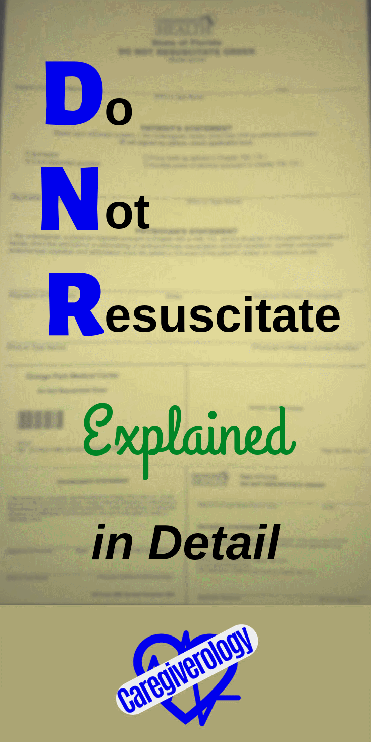 Do not resuscitate explained in detail
