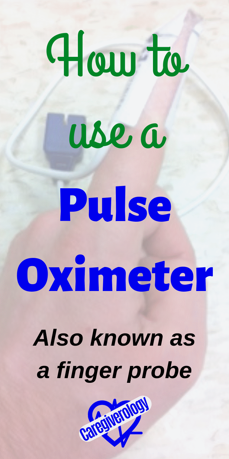 How to use a pulse oximeter