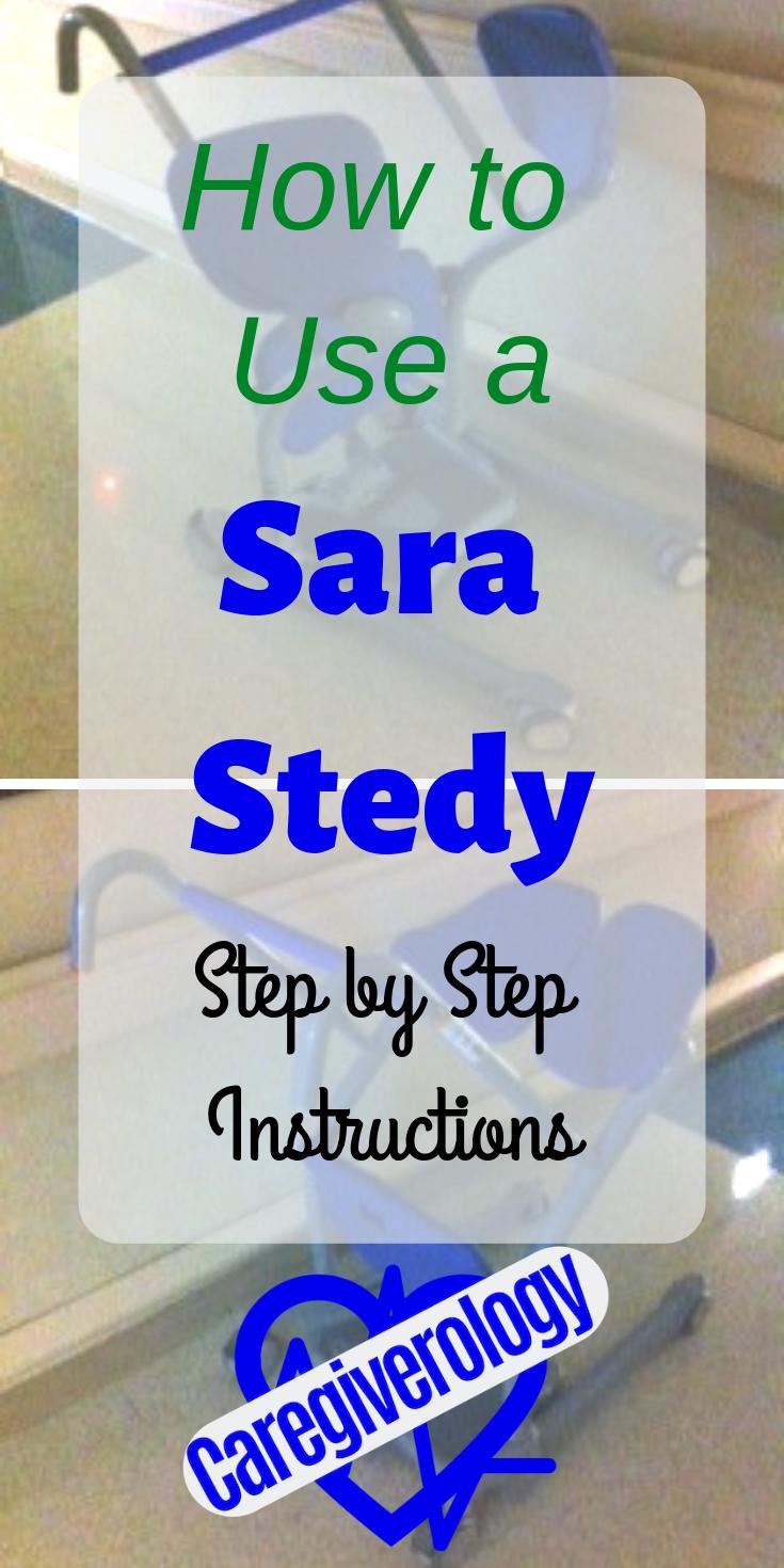 how to use a sara stedy
