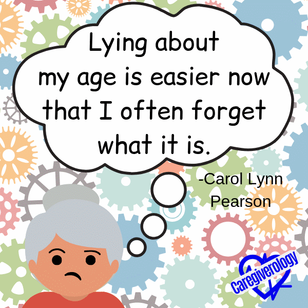 Lying about my age is easier now