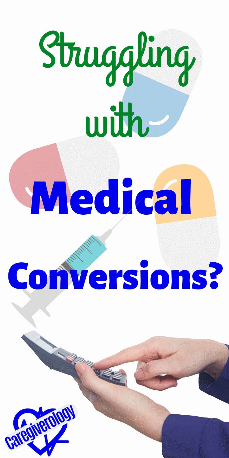 Struggling with medical conversions?