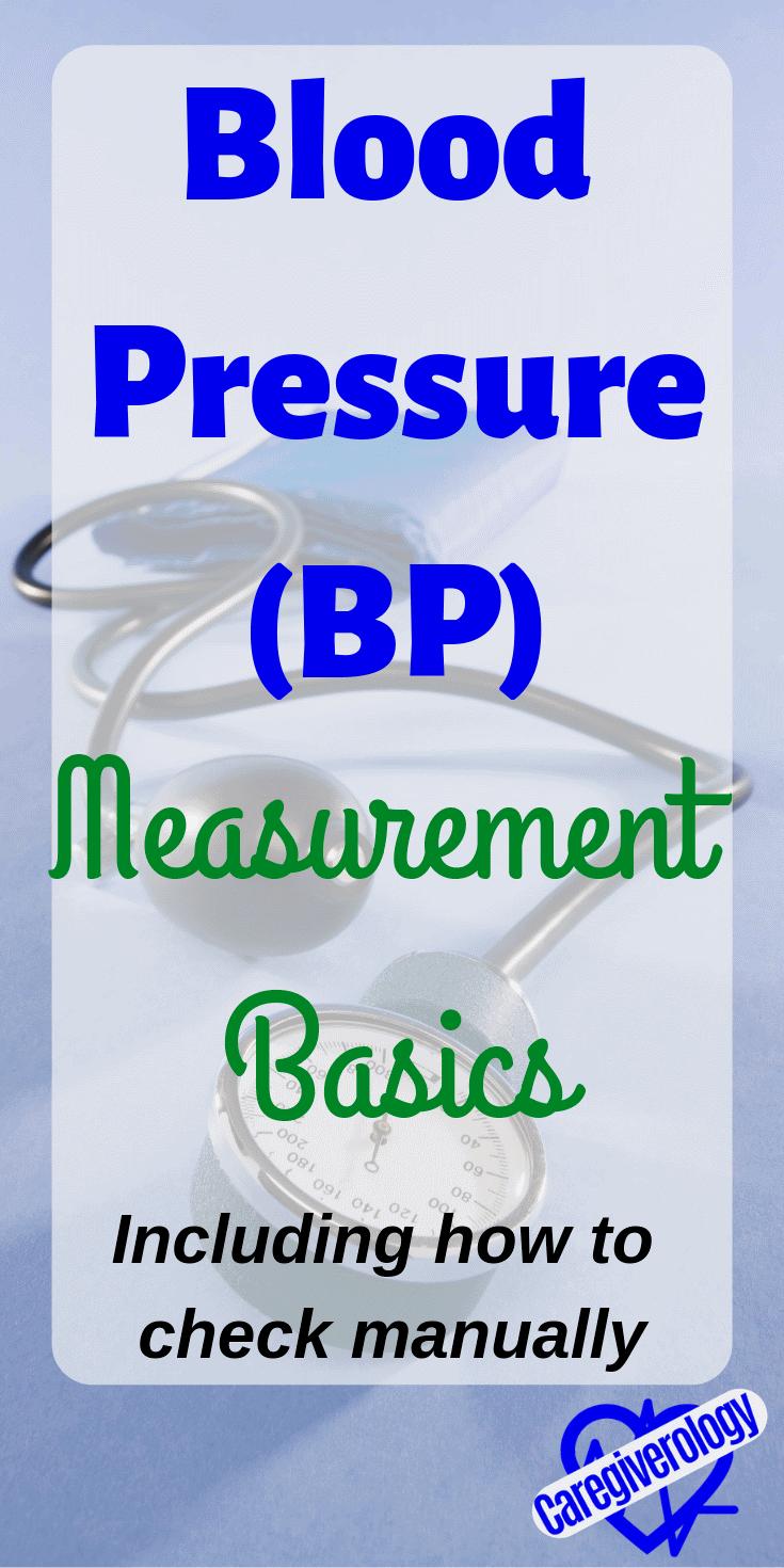 Blood pressure measurement basics