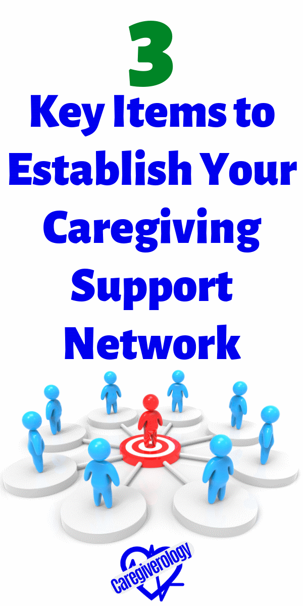3 Key Items to Establish Your Caregiving Support Network