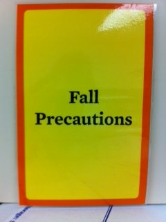 fall risk sign