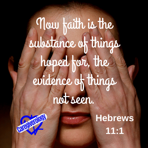 Now faith is the substance of things hoped for