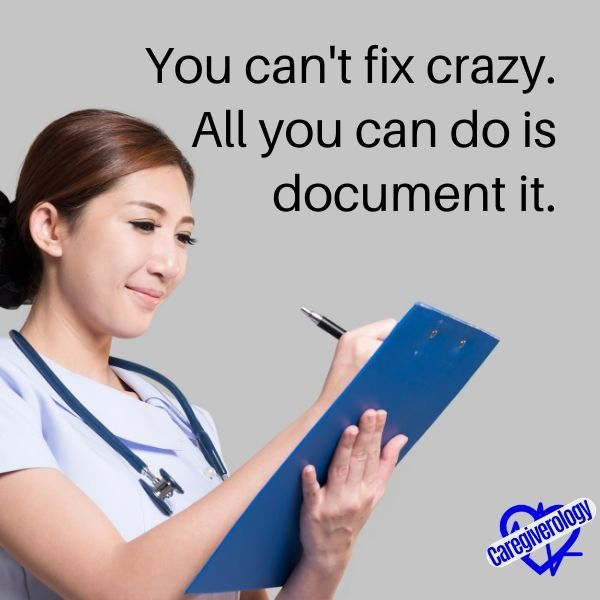 You can't fix crazy